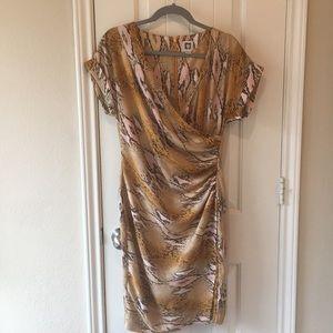 Anne Klein snake print dress